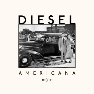 DIESEL Americana album cover